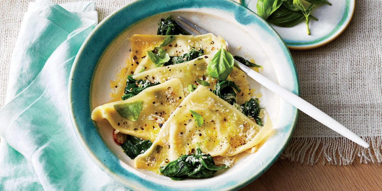Simple vegetarian dishes