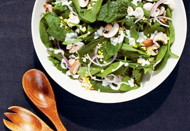 Arugula and Boston Lettuce Salad