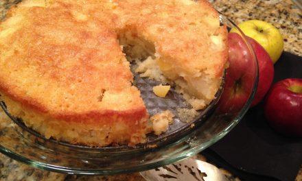 Boozy Apple Cake