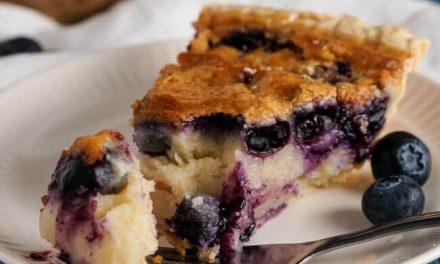 Buttermilk-Blueberry Pie