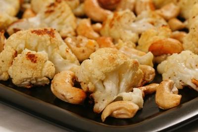 Cauliflower and Cashew Croquettes