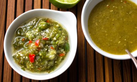 Cooked Tomatillo Salsa