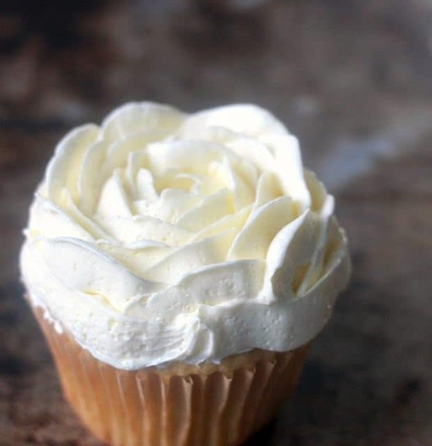 Not-Too-Sweet Buttercream Frosting