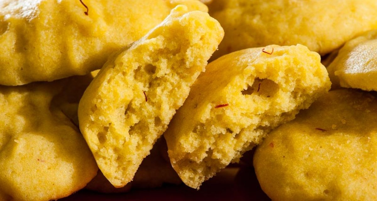 Saffron Olive Oil Cookies