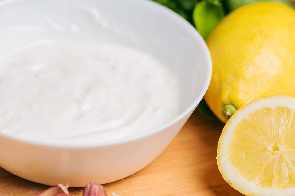 The Simplest Yogurt Sauce