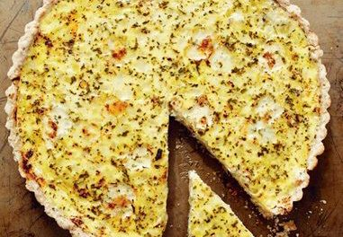 Buttermilk Herb and Onion Tart