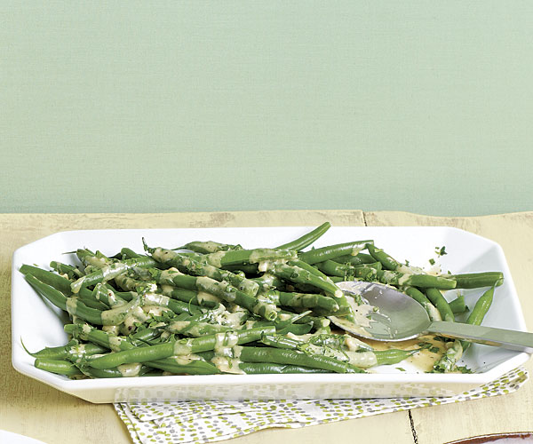Chilled Green Beans with Sesame Sauce