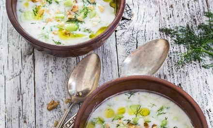 Cold Yogurt Cucumber Soup