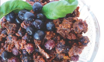 Fresh Blueberry Crumble