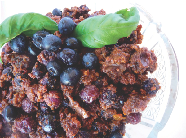 Fresh Blueberry Crumble