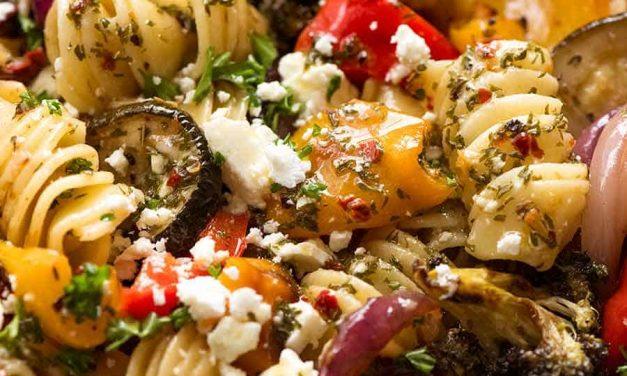 Marinated Pasta and Vegetable Salad