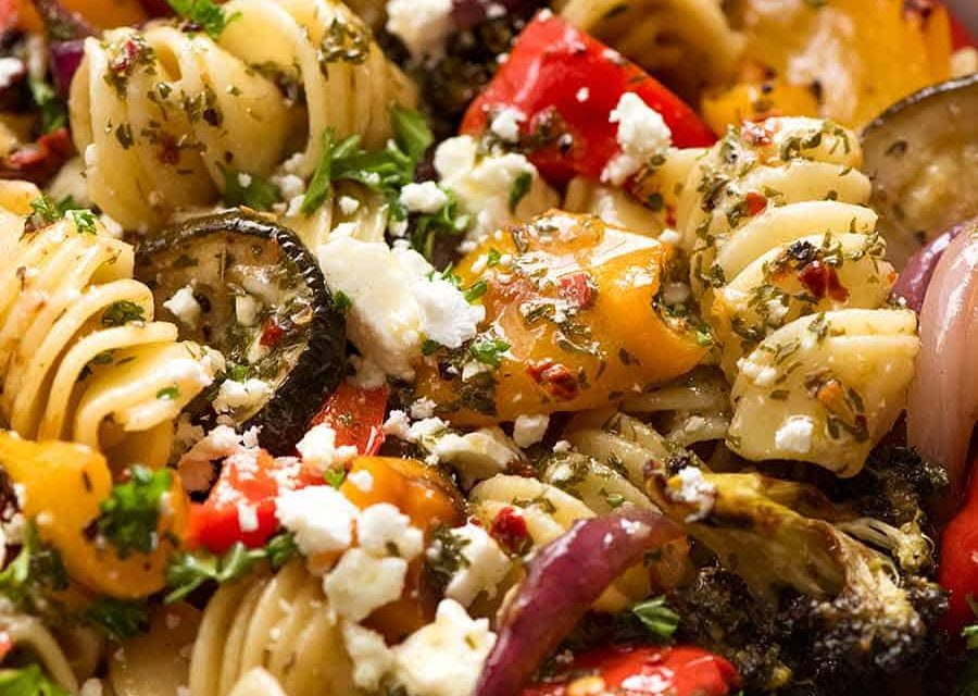 Marinated Pasta and Vegetable Salad