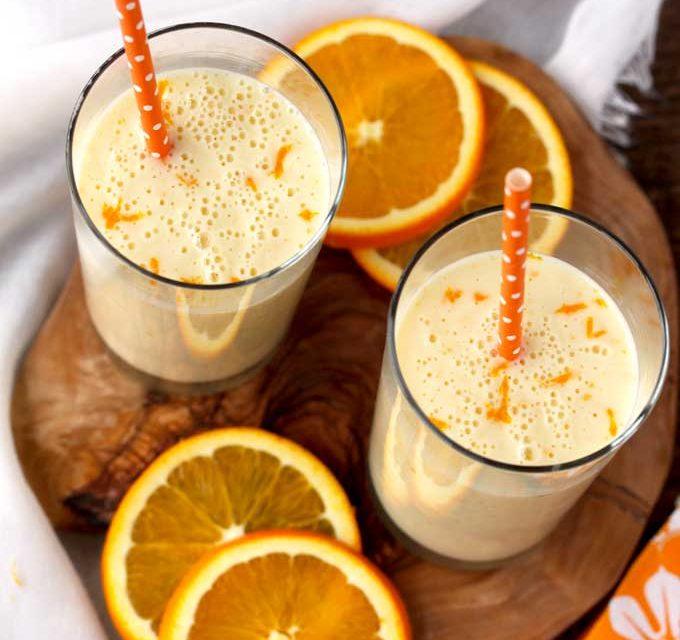Orange Lassi