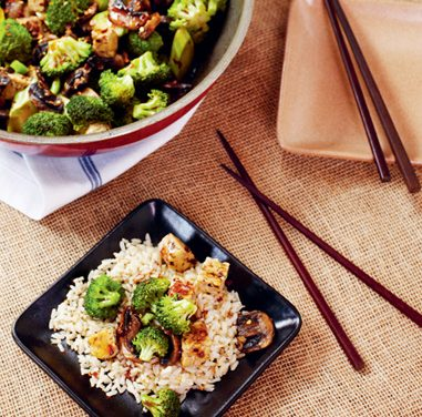 Stir-Fried Tempeh with Hot Pepper Sauce