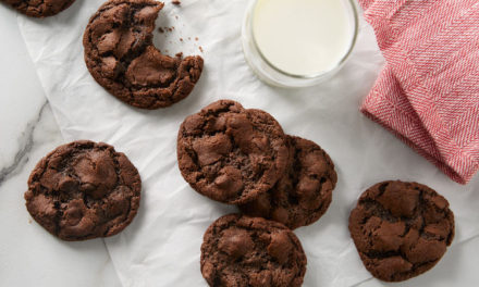 Chocolate Chocolate-Chip Cookies