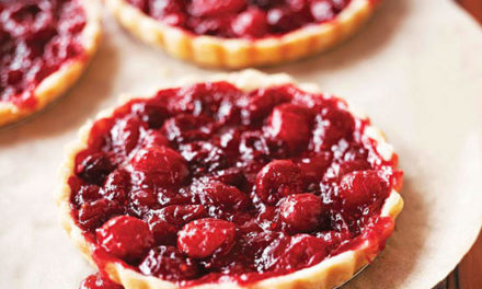 Cranberry Fruit Tart