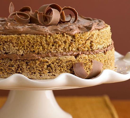 Mocha Walnut Torte