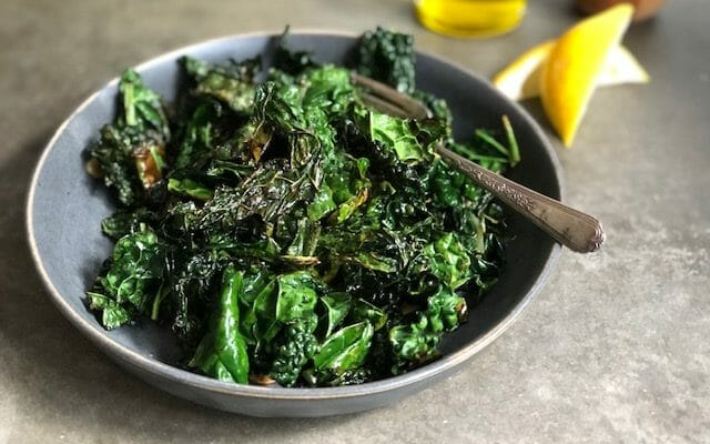 Sauted Greens with Garlic