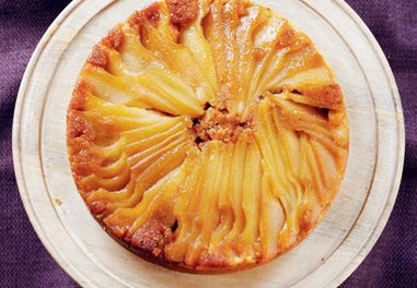 Glazed Pear Cake