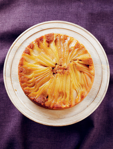 Glazed Pear Cake