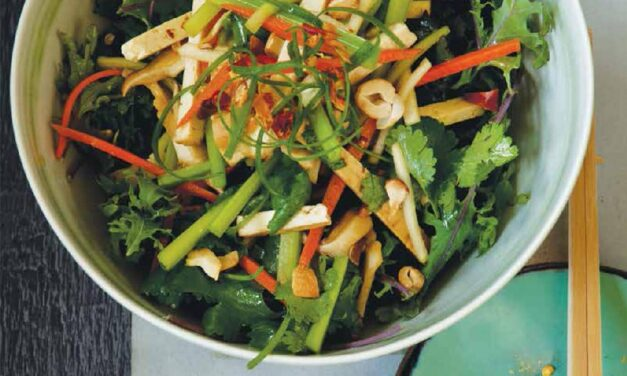 MATCHSTICK VEGETABLE & TOFU SALAD