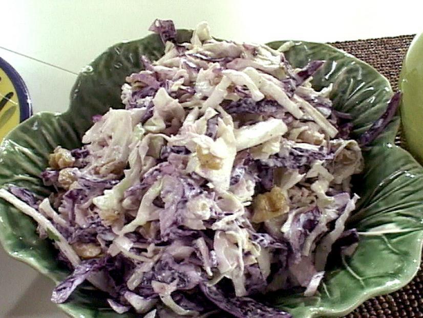 Waldorf-inspired coleslaw