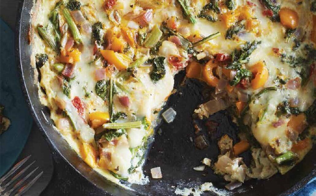 BROCCOLI RAAB FRITTATA