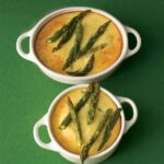 GOAT CHEESE–ASPARAGUS CRUSTLESS QUICHE