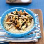 TRUFFLED WILD MUSHROOMS OVER WHIPPED WHITE BEANS
