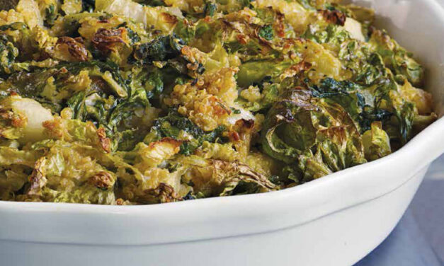 GREENS & QUINOA PIE