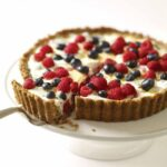 FRESH BERRY TART WITH TOASTED NUT CRUST