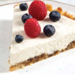 RAW CASHEW CHEESECAKE