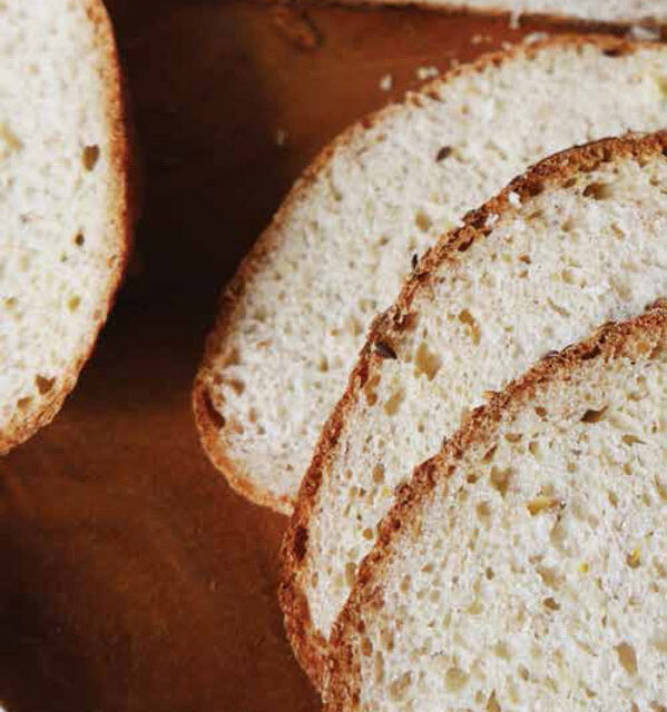 WHOLE-WHEAT FLAXSEED BREAD