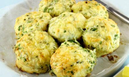 Cheddar and sage scones