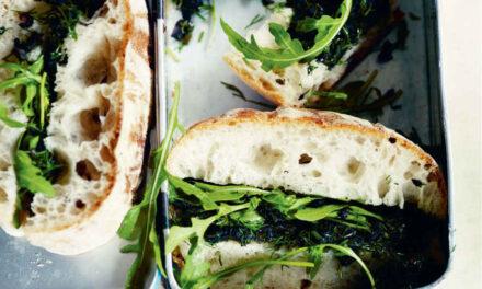 Chive egg mayonnaise sandwich