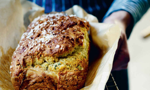 Herbed soda bread