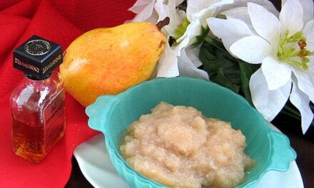 Microwave pear jam