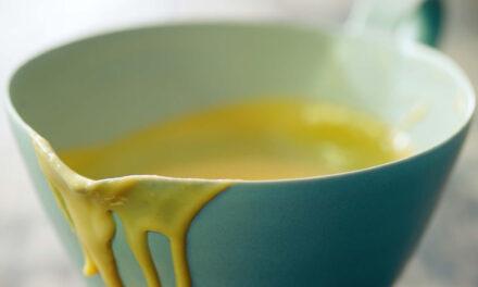 Toasted marzipan custard