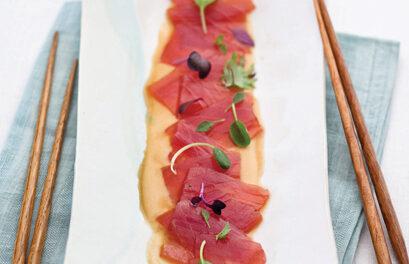 Bigeye Tuna Carpaccio