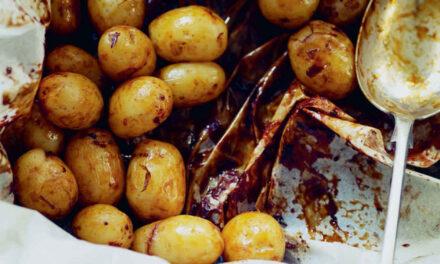 Little Marmite potatoes
