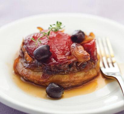 Caramelized Tomato Tarts