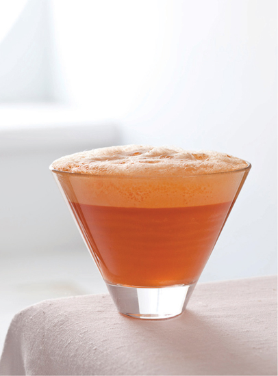 Carrot Air With Bitter Coconut Milk