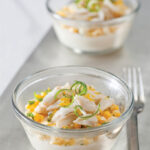 Chilled Crab And Corn Chawan Mushi