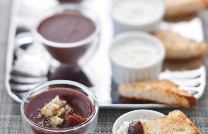 Milk Chocolate Cremoso With Espresso Parfait
