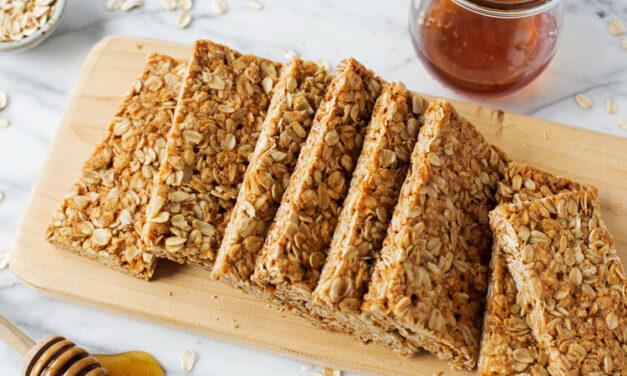 Honey Nut Granola Bars
