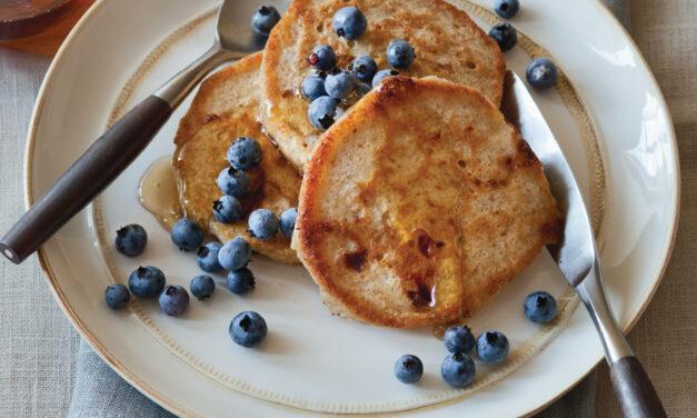 Lemon Cottage Cheese Griddlecakes
