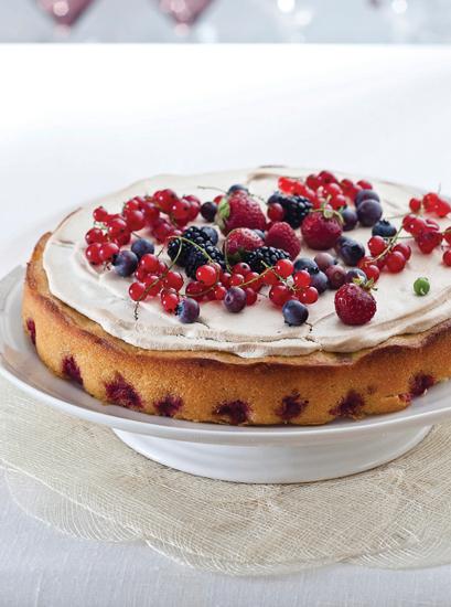 Plain or Fancy Ligurian Lemon Cake