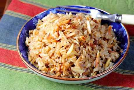 Quick Brown Rice Breakfast