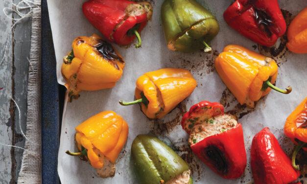 Baked Mini Pepper Poppers