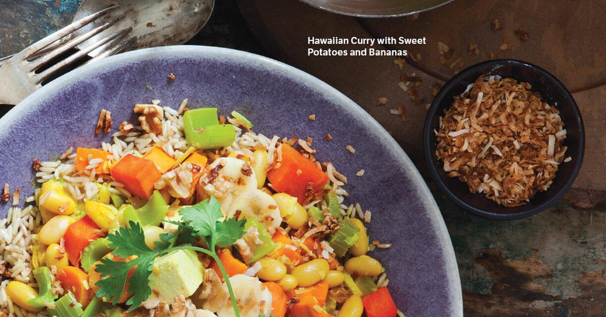 Hawaiian Curry with Sweet Potatoes and Bananas